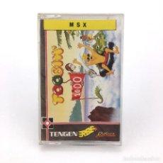Videojuegos y Consolas: TOOBIN / ERBE ESPAÑA / DOMARK TENGEN ATARI 1989 TUBING ARCADE JUEGO PARA ORDENADOR MSX MSX2 CASSETTE. Lote 231984570