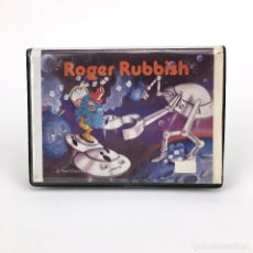 Videojuegos y Consolas: ROGER RUBBISH RARO ESTUCHE DYNADATA INFORMATICA ESPAÑA 1985 RETRO JUEGO ORDENADOR MSX2 MSX CASSETTE. Lote 232081550