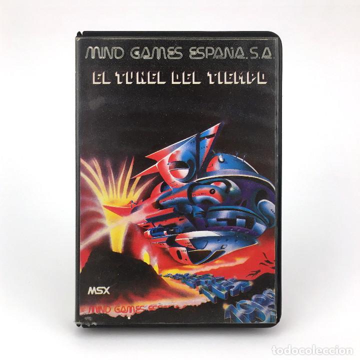 EL TUNEL DEL TIEMPO ESTUCHE MIND GAMES ESPAÑA 1986 CARMEN SANDIEGO JUEGO ORDENADOR MSX2 MSX CASSETTE (Juguetes - Videojuegos y Consolas - Msx)