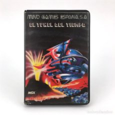 Videojuegos y Consolas: EL TUNEL DEL TIEMPO ESTUCHE MIND GAMES ESPAÑA 1986 CARMEN SANDIEGO JUEGO ORDENADOR MSX2 MSX CASSETTE. Lote 232081710