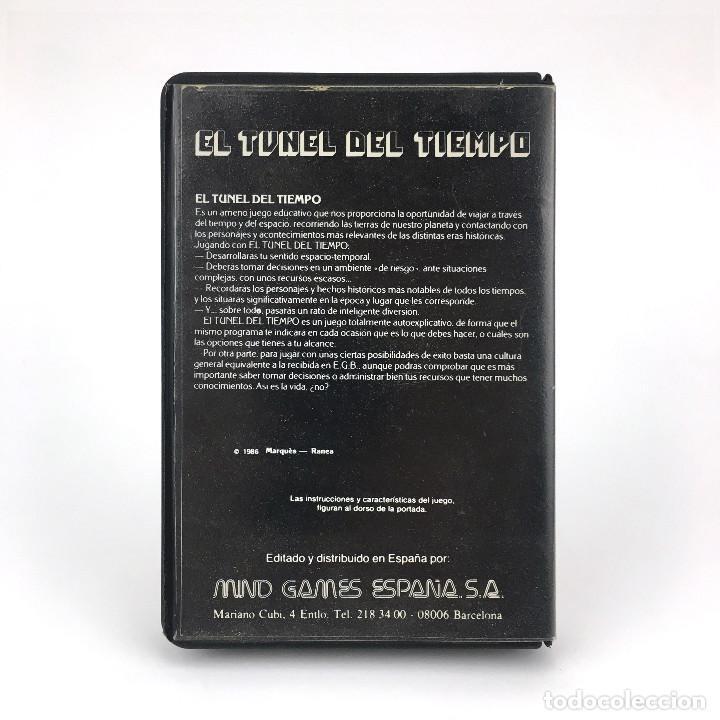 Videojuegos y Consolas: EL TUNEL DEL TIEMPO ESTUCHE MIND GAMES ESPAÑA 1986 Carmen Sandiego JUEGO ORDENADOR MSX2 MSX CASSETTE - Foto 3 - 232081710