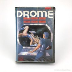 Videojuegos y Consolas: DROME TRON CLON ESTUCHE INFODIS ESPAÑA BYTEBUSTERS EAGLESOFT 1986 RARO JUEGO RETRO MSX2 MSX CASSETTE. Lote 232109270