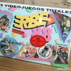 Videojuegos y Consolas: ERBE 88 - PACK DE 5 JUEGOS - NUEVO Y PRECINTADO - MSX - CASSETTE. Lote 232428780