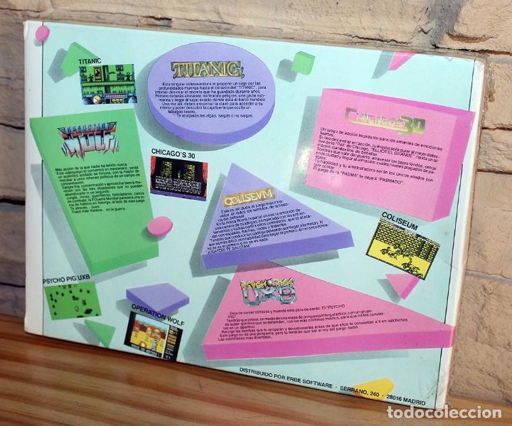 Videojuegos y Consolas: ERBE 88 - PACK DE 5 JUEGOS - NUEVO Y PRECINTADO - MSX - CASSETTE - Foto 2 - 232428780