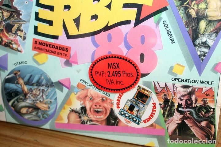 Videojuegos y Consolas: ERBE 88 - PACK DE 5 JUEGOS - NUEVO Y PRECINTADO - MSX - CASSETTE - Foto 7 - 232428780