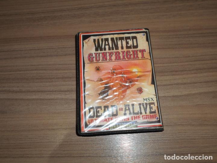 Videojuegos y Consolas: GUNFRIGHT Juego MSX MSX2 - Foto 2 - 233025405
