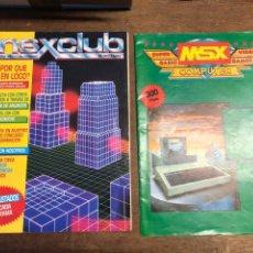 Videojuegos y Consolas: REVISTAS MSX CLUB NÚMEROS 11 Y 13. Lote 233211450