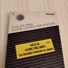 Videojuegos y Consolas: CHESS'86 AJEDREZ MULTINIVEL MSX. Lote 233322750