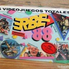 Videojuegos y Consolas: ERBE 88 - PACK DE 5 JUEGOS - NUEVO Y PRECINTADO - MSX - CASSETTE. Lote 234317590