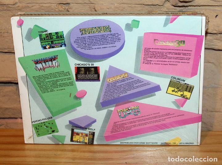 Videojuegos y Consolas: ERBE 88 - PACK DE 5 JUEGOS - NUEVO Y PRECINTADO - MSX - CASSETTE - Foto 2 - 234317590
