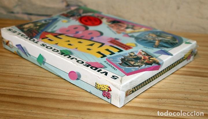 Videojuegos y Consolas: ERBE 88 - PACK DE 5 JUEGOS - NUEVO Y PRECINTADO - MSX - CASSETTE - Foto 4 - 234317590