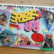 Videojuegos y Consolas: ERBE 88 - PACK DE 5 JUEGOS - NUEVO Y PRECINTADO - MSX - CASSETTE. Lote 234317635