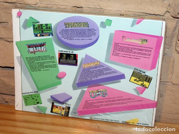 Videojuegos y Consolas: ERBE 88 - PACK DE 5 JUEGOS - NUEVO Y PRECINTADO - MSX - CASSETTE - Foto 2 - 234317635