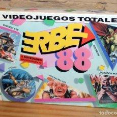 Videojuegos y Consolas: ERBE 88 - PACK DE 5 JUEGOS - NUEVO Y PRECINTADO - MSX - CASSETTE. Lote 234317660