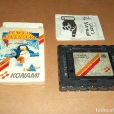 Videojuegos y Consolas: PENGUIN ADVENTURE , COMPLETO EN CARTUCHO PARA MSX. Lote 234717900