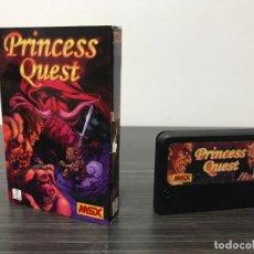 """Videojogos e Consolas: JUEGO MSX """" PRINCESS QUEST """". Lote 234739265"""