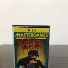 Videojuegos y Consolas: HAUNTED HOUSE PARA MSX. Lote 234757565