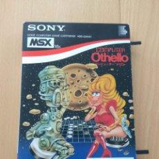 Videojuegos y Consolas: JUEGO CARTUCHO MSX COMPUTER OTHELLO VERSIÓN SONY JAPONESA 1984 MUY BUEN ESTADO.. Lote 234876130