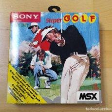 Videojuegos y Consolas: JUEGO MSX MSX2 SUPER GOLF SONY LOGITECH 1984 VERSION EUROPEA MUY BUEN ESTADO FUNCIONANDO PERFECTO. Lote 234876515