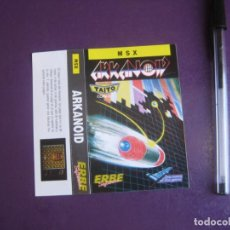 Videojuegos y Consolas: ARKANOID - MSX - ERBE - SOLO CARATULA - NUEVA -. Lote 235483315