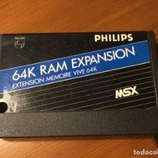 Videojuegos y Consolas: AMPLIACIÓN DE MEMORIA PHILIPS MSX. Lote 235566690