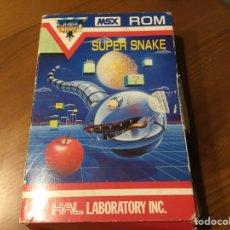Videojuegos y Consolas: SUPER SNAKE. MSX. Lote 235567210