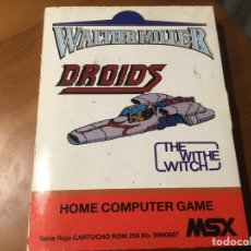 Videojuegos y Consolas: DROIDS. THE WITHE WITCH. Lote 235571285