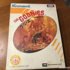 Videojuegos y Consolas: THE GOONIES. KONAMI. Lote 235572525