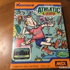 Videojuegos y Consolas: ATHLETIC LAND. KONAMI. Lote 235572920