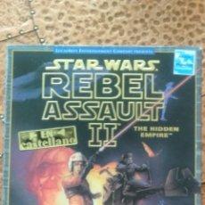 Videojuegos y Consolas: JUEGO STAR WARS REBEL ASSAULT II. Lote 235690240