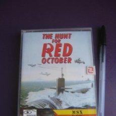 Videojuegos y Consolas: HUNT RED OCTOBER - CAZA OCTUBRE ROJO - MSX ZAFIRO 1988 - VIDEOJUEGO VINTAGE - CINE 80'S - PRECINTO. Lote 235930335