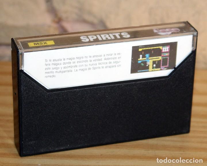 Videojuegos y Consolas: SPIRITS - MSX - TOPO SOFT - 1987 - MUY BUEN ESTADO - FUNDA + CASETE + CARATULA - Foto 2 - 236879775