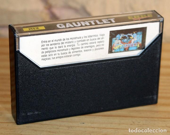 Videojuegos y Consolas: GAUNTLET - MSX - THE DEEPER DUNGEONS - 1987 - MUY BUEN ESTADO - FUNDA + CASETE + CARATULA - Foto 2 - 236880445