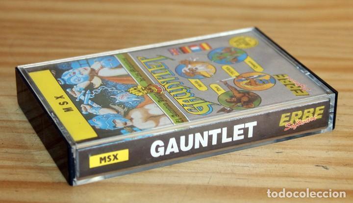 Videojuegos y Consolas: GAUNTLET - MSX - THE DEEPER DUNGEONS - 1987 - MUY BUEN ESTADO - FUNDA + CASETE + CARATULA - Foto 3 - 236880445