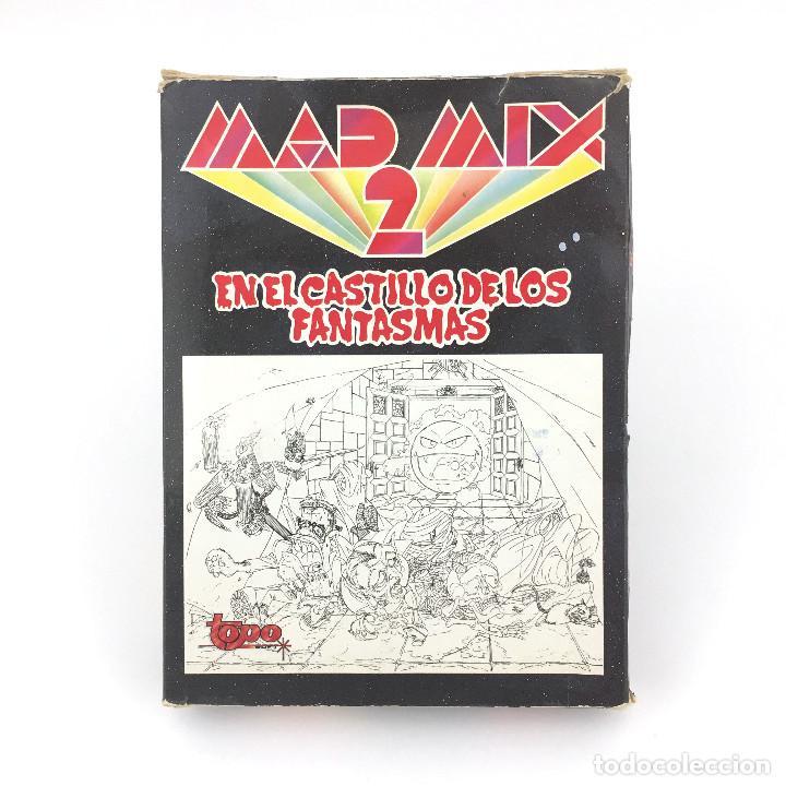 MAD MIX GAME 2 TOPO SOFT / EN EL CASTILLO DE LOS FANTASMAS. PAC MANIA JUEGO PACMAN MSX MSX2 CASSETTE (Juguetes - Videojuegos y Consolas - Msx)