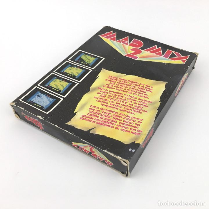 Videojuegos y Consolas: MAD MIX GAME 2 TOPO SOFT / EN EL CASTILLO DE LOS FANTASMAS. Pac Mania JUEGO Pacman MSX MSX2 CASSETTE - Foto 3 - 238411115