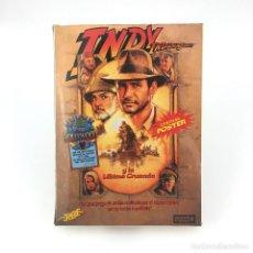 Videojuegos y Consolas: INDIANA JONES Y LA ULTIMA CRUZADA * CON POSTER * ERBE ESPAÑA / LUCASFILM 1989 INDY MSX MSX2 CASSETTE. Lote 238411750