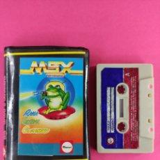 Videojuegos y Consolas: RANA SIDERAL GUSANOCO,MSX,COMMODORE,AMSTRAD,SPECTRUM. Lote 241406915