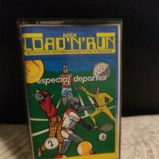 Jeux Vidéo et Consoles: LOAD N RUN ESPECIAL DEPORTES MSX. Lote 241479270