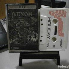 Videojuegos y Consolas: JUEGO MSX VENOM. Lote 241639210