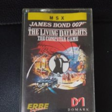 Videojuegos y Consolas: ALTA TENSION. THE LIVING DAYLIGHTS. JAMES BOND 007. DOMARK ERBE 1987 – MSX,. Lote 241722490