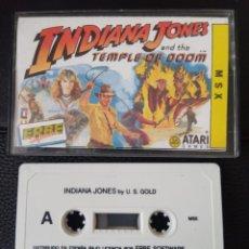 Videojuegos y Consolas: INDIANA JONES Y EL TEMPLO MALDITO U.S. GOLD ERBE 1988 – MSX,. Lote 241724455