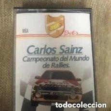Videojuegos y Consolas: ANTIGUO JUEGO MSX CARLOS SAINZ CAMPEONATO MUNDO RALLIES. Lote 241836050