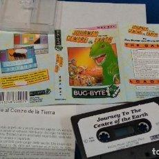 Videojuegos y Consolas: MSX JUEGO(JOURNEY TO THE CENTRE OF THE EARTH -VIAJE AL CENTRO DE LA TIERRA)1986 BUG - BYTE. Lote 241966520