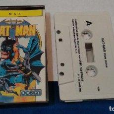 Videojuegos y Consolas: MSX JUEGO CASETE MSX ( BAT MAN )1986 ERBE OCEAN- BIEN CUIDADO. Lote 241971350