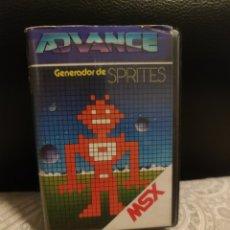 Jeux Vidéo et Consoles: GENERADOR DE SPRITES MSX. Lote 242000300