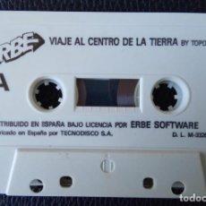 Videojuegos y Consolas: VIAJE AL CENTRO DE LA TIERRA BY TOPO SOFT. 1989 – MSX,. Lote 242004590