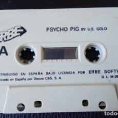 Videojuegos y Consolas: PSYCHO PIG BY U.S. GOLD + TITANIC BY TOPO SOFT. 1988 – MSX,. Lote 242005195