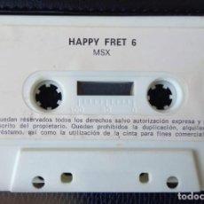 Videojuegos y Consolas: HAPPY FRET 6 – MSX. Lote 242006550