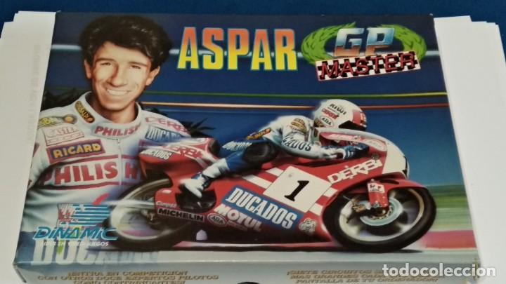 MSX JUEGO CASETE MSX ( ASPAR - GP MASTER ) 1988 DINAMIC - COMPLETO - VER FOTOS (Juguetes - Videojuegos y Consolas - Msx)